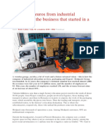 Millions of Euros From Industrial Relocations, The Business That Started in a Garage