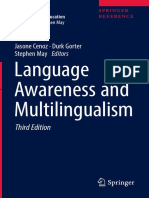 1. (Encyclopedia of Language and Education) Jasone Cenoz, Durk Gorter, Stephen May (Eds.) - Language Awareness and Multilingualism-Springer International Publishing (2017)