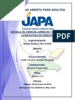 Tareas 1 y 2 Derecho Comercial II 26-01-2019