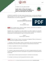Lei Nº 2957 de 11 de Julho de 2018-Viana-es-compilada-26!09!2018 - Dispoe Sobre o Plano de Cargos