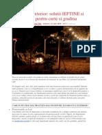 Iluminatul exterior solutii IEFTINE si PRACTICE pentru curte si gradina.docx
