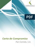Carta Compromiso de Auditoria Fiscal y Financiera