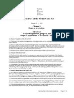General Part of the Social Code Act 2017 Estonia