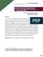 RECURSOS Y CAPACIDADES DETERMINANTES DEL ÉXITO COMPETITIVO DE LAS PYMES