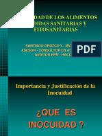 Inocuidad, Medidas Sanitarias y Fitosanitarias