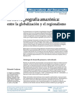 Nueva Geografía Amazónica