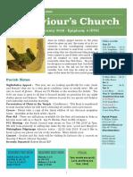 st saviours newsletter - 27 january 2019