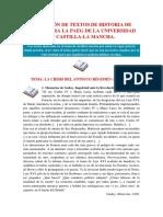 Textos PAEG 2014