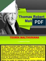 Reseña de Thomas maltus