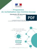 Revitalisation Des Centres-bourgs