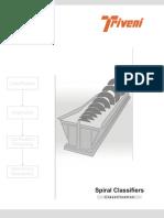 Spiral Classifier Brochure- Triveni Engg