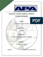 Tarea 1 Derecho Internacional Publico y Privado