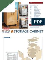 Storage Cabinet Plan Rockler
