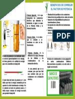 Infografia Factor de Potencia