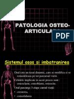 Patologia Osteo Articulara