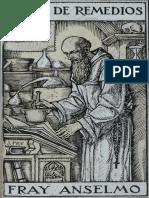 Libro de Remedios de Fray Anselmo (Circa 1920)