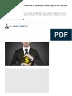 Pymes Consiguen Financiamiento 20 Punto..