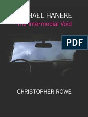 Christopher Rowe Michael Haneke The Intermedial Void