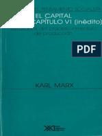 Marx El Capital - Capítulo Inédito