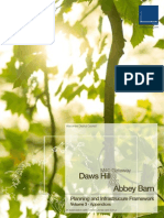 Daws Hill & Abbey Barn Planning and Infrastructure Framework - Appendices