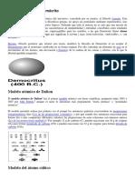 Modelo Atómico de Demócrito