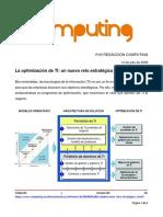 Optimización TI