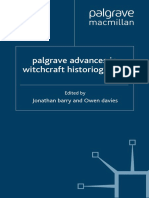 BARRY-DAVIES (Eds.). Palgrave Advances in Witchcraft Historiography (1)