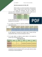 Ejercicios Propuestos de VAN y TIR