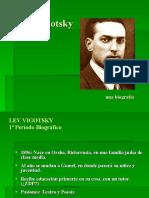 Biografia Lev Vigotsky en Power Point