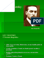 Biografia Lev Vigotsky en Power Point