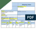 Shipping Order NPC031-18 DM Qatar
