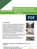 Tratamiento Integral de Cuenca Para Prevención de Riesgo