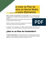 Cómo crear un Plan de Contenidos en Social Media paso a paso.pdf