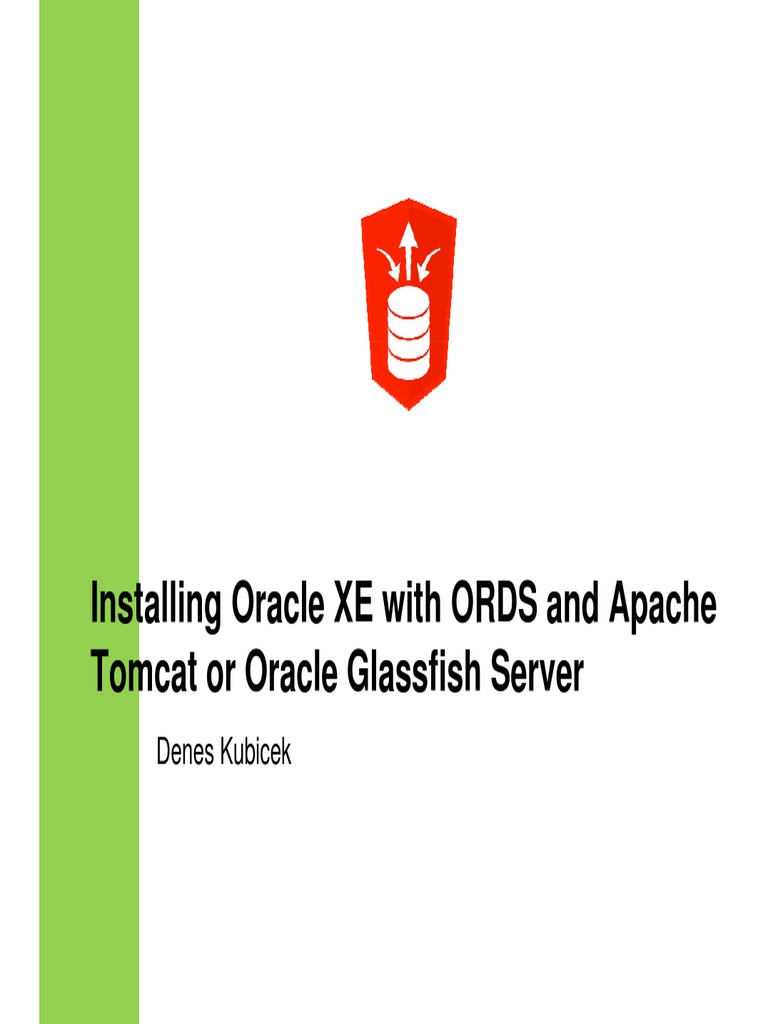 725_Kubiček+Configuring+Oracle+RDS+with+Glasfish+Server | Oracle