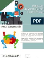 Técnicas de Organización y Sus Caracteristicas