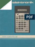 Anleitung Schulrechner SR 1