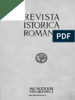 Revista istorică română, vol. 3, fasc. 1, 1933