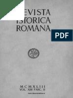 Revista istorică română, vol. 13, fasc. 2, 1943