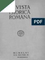 Revista istorică română, vol. 16, fasc. 4, 1946