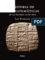Historia de Las Matematicas en - Ian Stewart