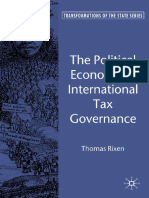 Thomas Rixen - The Political Economy of International Tax Governance (Transformations of the State) (2008)