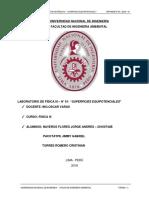 LABORATORIO de FÍSICA III - Curvas Equipotenciales