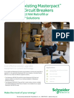 Schneider Electric Upgrade Existing Masterpact MP MC M Circuit Breakers Brochure 1910HO1029