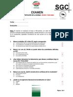 EXAMEN - Interpretacion de La Norma ISO 17025-2006