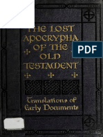 James. The lost Apocrypha of the Old Testament, their titles and fragments. 1920.