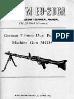 [] TM E9-206A. German 7.9-Mm Dual Purpose Mashine (B-ok.org)