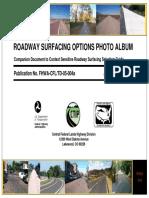 Roadway Surfacing Photos