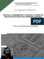FUNDAMENTOS Y LEYES DE LA TEORÍA DE CIRCUITOS ELÉCTRICOS