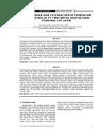 Jurnal Perancangan dan Estimasi Biaya Pembuatan Static Mixer di PT TMW untuk Revitalisasi Terminal LPG Arun