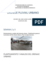 Drenaje Pluvial Urbano